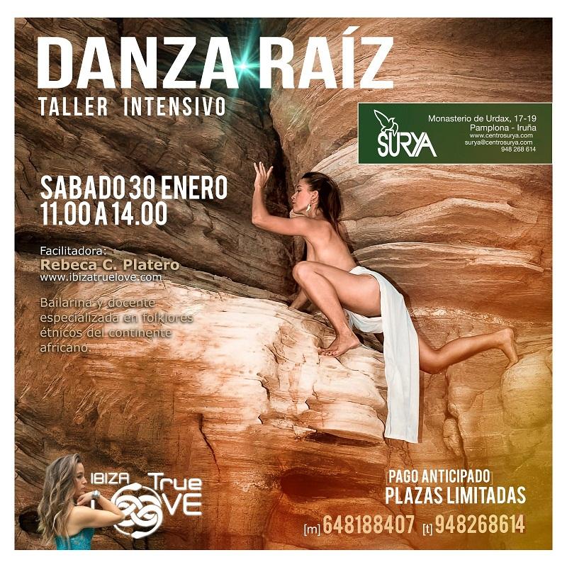Taller de Danza Raíz en enero